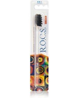 Зубная щетка фиолетовый круглый R.o.c.s.