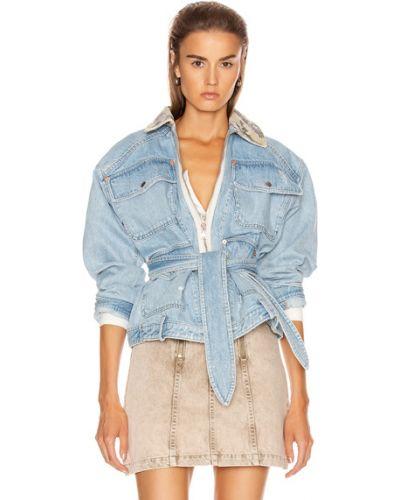 Niebieskie jeansy bawełniane Marissa Webb