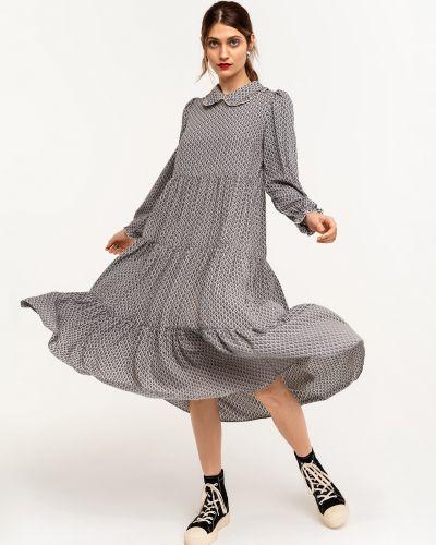 Свободное платье макси в горошек свободного кроя Befree