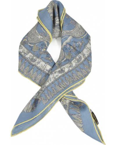 Niebieski szalik Emilio Pucci