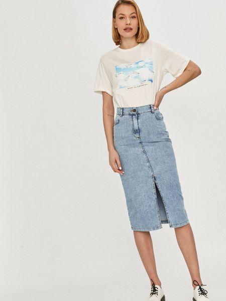 Джинсовая юбка Answear Lab