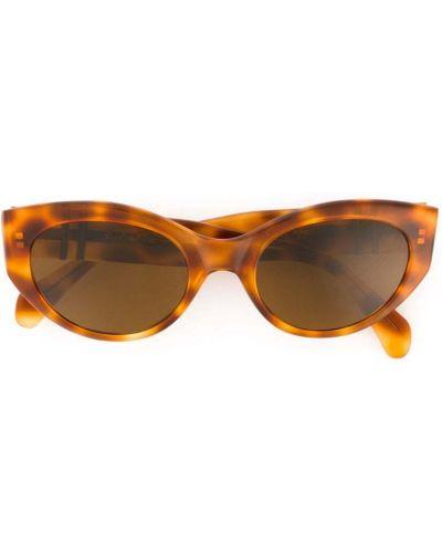 Солнцезащитные очки кошачий глаз коричневый Persol Pre-owned