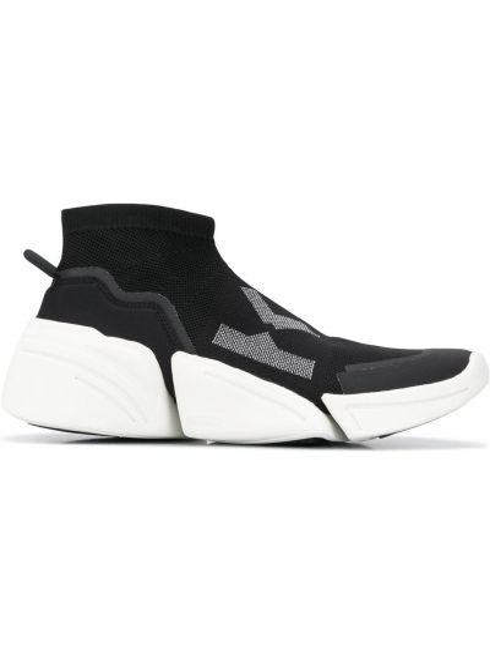 Массивные черные носки без застежки Kenzo