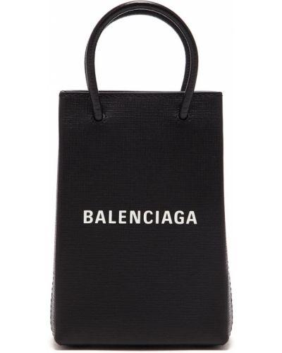 Кожаная сумка шоппер маленькая Balenciaga