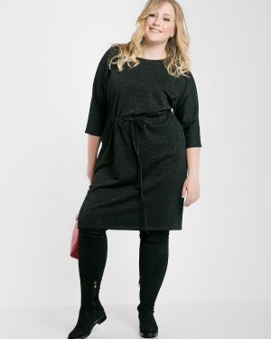 Платье с поясом летучая мышь платье-сарафан Jetty-plus