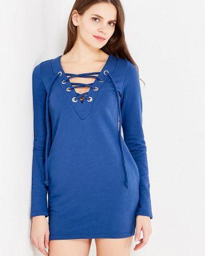 Синее платье Mirasezar