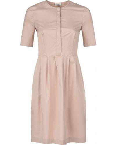 Платье весеннее бежевое Cappellini