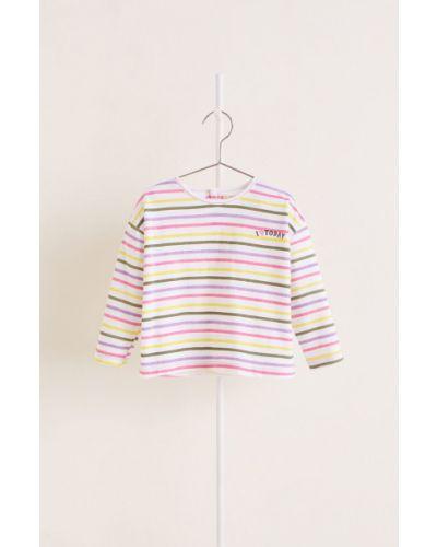 Блуза трикотажная прямая Mango Kids