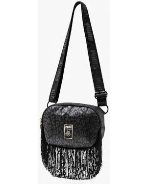 Поясная сумка черная весенний Puma