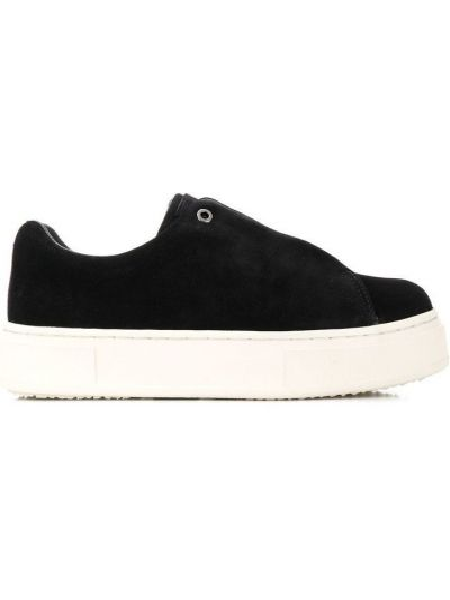 Czarne brokatowe sneakersy Eytys