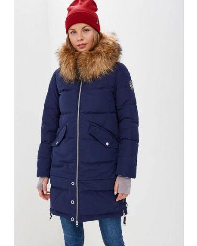 Зимняя куртка осенняя синий Snowimage