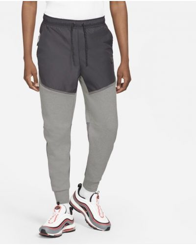 Runo szary joggery z kieszeniami Nike