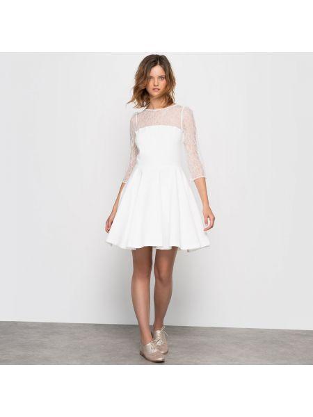 Платье мини миди на пуговицах La Redoute Collections