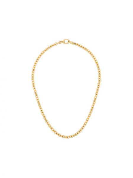 Ожерелье золотое металлическое Tom Wood