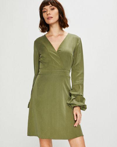Платье мини с длинными рукавами прямое Trendyol