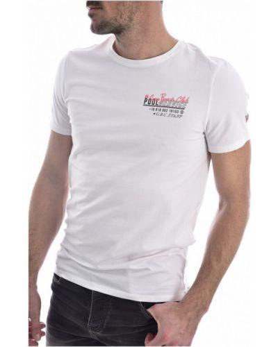 Koszula jeansowa krótki rękaw bawełniana Guess