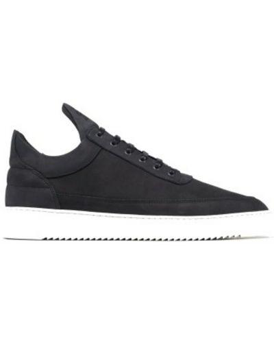Sneakersy - czarne Filling Pieces