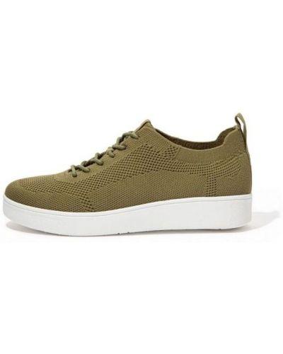 Zielone sneakersy Fitflop