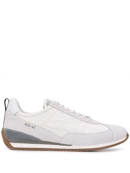 Кожаные кроссовки - белые Brimarts
