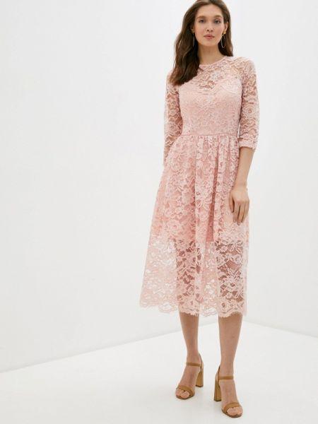 Розовое вечернее платье Gorchica
