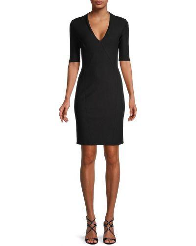 Sukienka elegancka - czarna Helmut Lang
