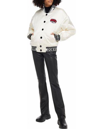 Вязаная белая куртка с пайетками Dolce & Gabbana