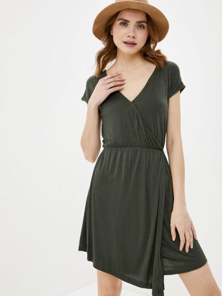 Платье прямое зеленый Brave Soul