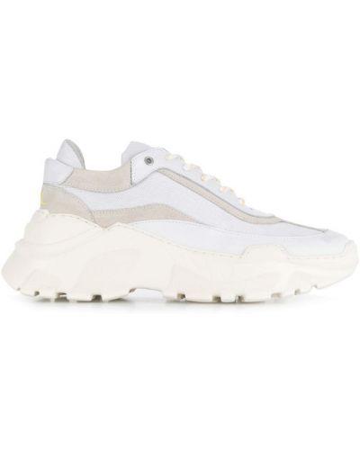 Кроссовки на шнуровке - белые J.lindeberg