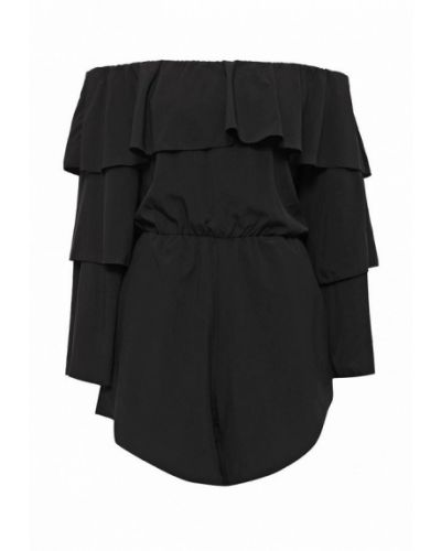 Комбинезон с шортами черный Chic