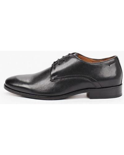 Кожаные черные туфли Salamander