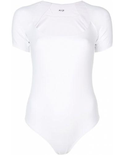 Приталенная футболка - белая Alix