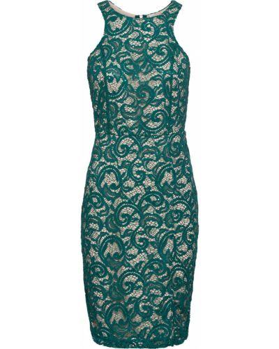 Платье ажурное с разрезом Bonprix