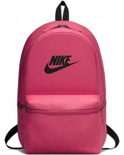 Розовый рюкзак с отделениями Nike