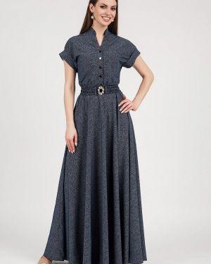 Платье макси - синее Olivegrey