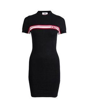 Повседневное платье черное Gcds