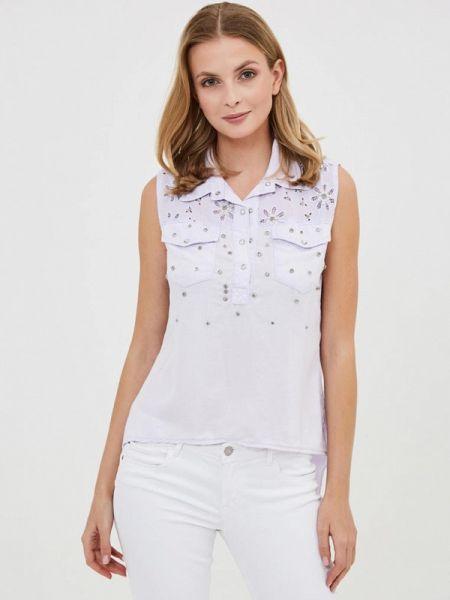 Блузка без рукавов зеленый турецкий D'she