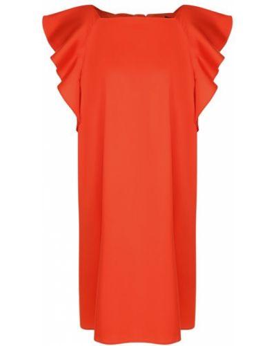 Платье мини с бантом с оборками Tara Jarmon