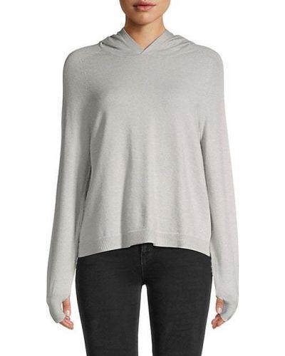 Серебряное худи с капюшоном с манжетами 525 America