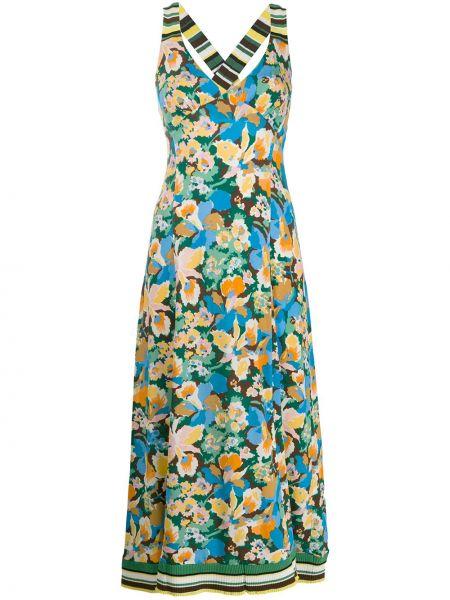 Платье миди с декольте на бретелях M Missoni