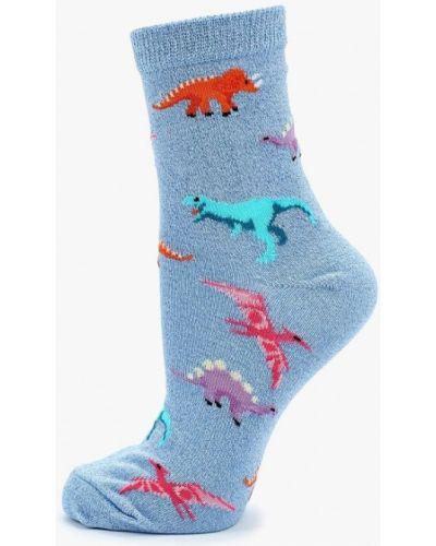 Голубые носки Topshop