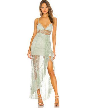 Вечернее платье на бретелях на молнии Nbd