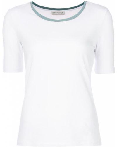 Приталенная футболка - белая Le Tricot Perugia