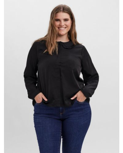 Czarna bluzka Vero Moda Curve