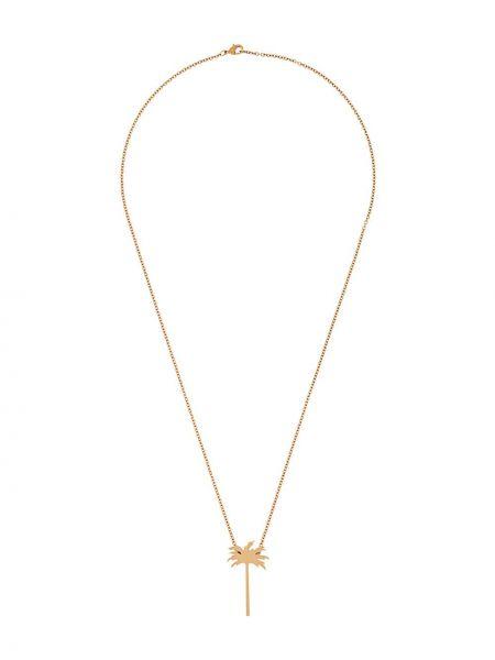 Ожерелье золотой Palm Angels