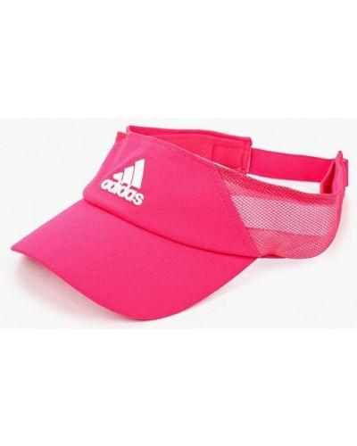 Розовый козырек Adidas