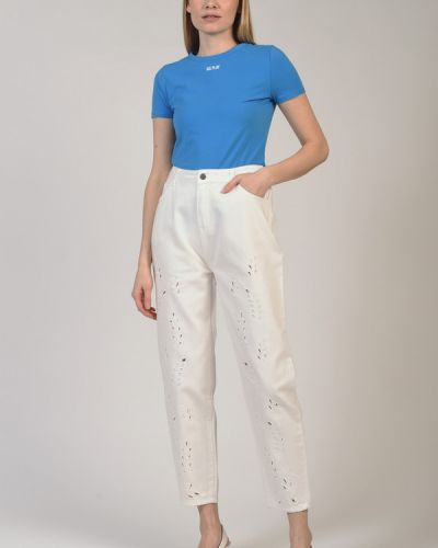 Хлопковые джинсы Apart