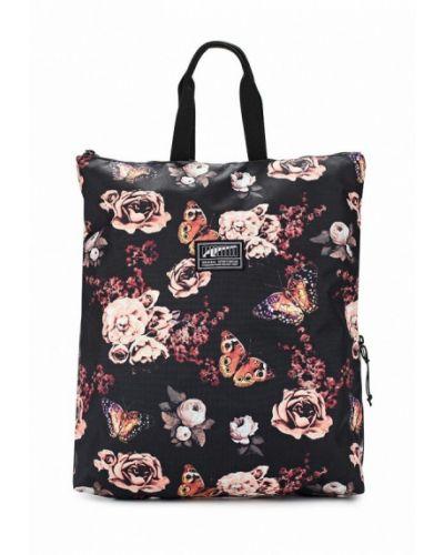 Черный рюкзак Puma