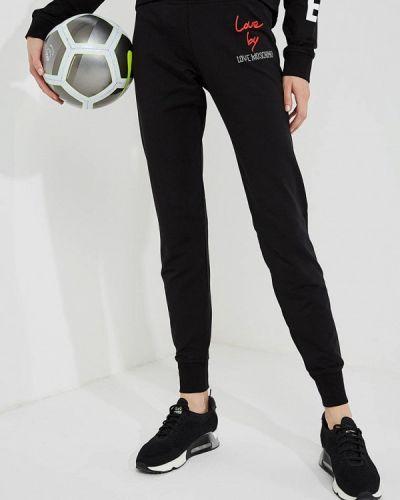 Черный спортивный топ Love Moschino