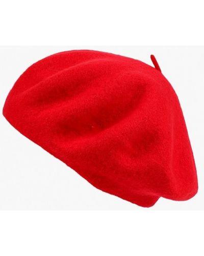 Красный берет осенний Zarina