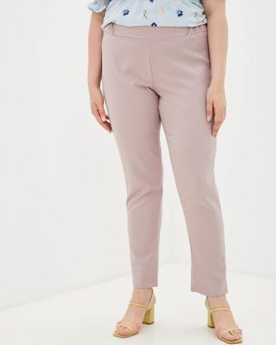 Розовые зауженные брюки Prewoman